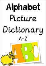 Alphabet | Picture Dictionary | A-Z Charts | Sassoon Primary Style