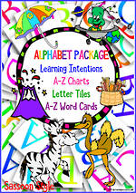 Learning the Alphabet | PACKAGE | Sassoon Primary Style