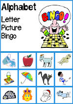 Alphabet Picture | Bingo