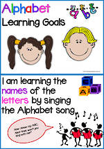 Alphabet | Learning Goals