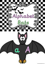 Bat | Alphabet Letters |  Charts | Sassoon Primary Style