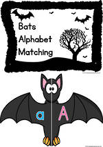 Bat | Alphabet Letters | Game | Primary Print