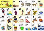 Aussie Alphabet Card | Lowercase & Uppercase Letters
