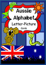 Aussie Alphabet | Letter-Picture | Word Cards
