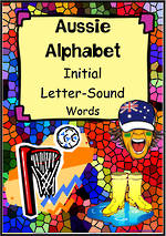 Aussie Alphabet | Word Cards