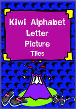 Kiwi Alphabet | Letter-Picture | Cards