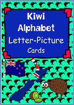 Kiwi Alphabet | Letter-Picture | Word Cards