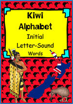 Kiwi Alphabet | Word Cards