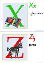 Let's Learn the Alphabet | VIC PreCursive | Charts