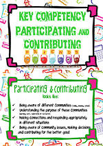 Key Competencies | Participating and Contributing | ICT | Chart