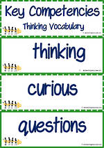 Key Competencies | Thinking | Vocabulary