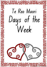 Te Reo Maori | Days of the Week