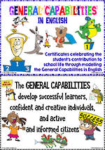 English | General Capabilities| Certificates & Posters