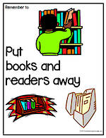 Remember To | Put Books Away | Chart