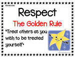 Remember | Respect | Is The Golden Rule | Chart