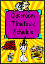 Visual Timetable | Cards 2