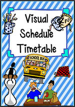 Visual Timetable | Cards 3
