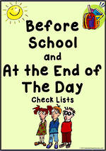 Before School | At the End of the Day | Check List