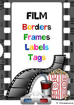 Movie Theme | Border - Frames- Labels -Tags