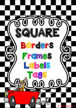 Geometric | Border - Frames- Labels -Tags