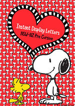 Instant Display | Uppercase & Lowercase Letters | Snoopy Design | NSW-NZ  Pre Cursive