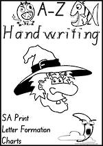 Foundation Handwriting | Letter Formation| Charts | SA Print