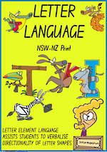 Foundation Handwriting | Terminology | Uppercase Letter  | Charts | NSW-NZ Print