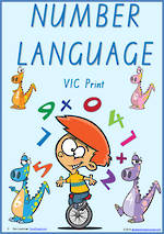 Foundation Handwriting | Terminology | Number Language | Charts | VIC Print