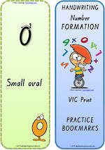 Foundation Handwriting   Terminology   Bookmark   Number   Cards   VIC Print