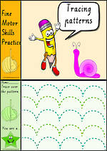 Foundation Handwriting | Practice | Tracing Patterns  | Colour Charts | VIC PreCursive