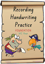Foundation Handwriting | Visible Learning | Recording Practice | Colour Sheets | VIC Print
