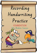 Foundation Handwriting | Visible Learning | Recording Practice | Colour Sheets | VIC PreCursive