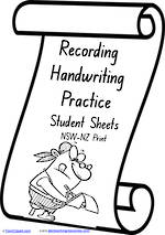 Foundation Handwriting | Visible Learning | Recording Practice | NSW-NZ Print