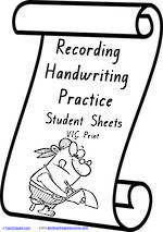 Foundation Handwriting | Visible Learning | Recording Practice  | VIC Print