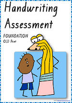 Foundation Handwriting | Visible Learning | Assessment | QLD Print