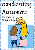 Foundation Handwriting | Visible Learning | Assessment | VIC PreCursive