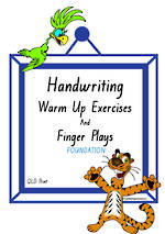 Foundation Handwriting | Management | Rhymes | Charts | QLD Print