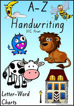 Foundation Handwriting | Management | Letter – Word | Display | VIC Print