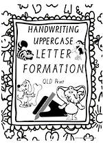 Year 1 Handwriting | Letter Formation | UPPERCASE | Charts | QLD Print