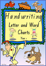 Year 1 Handwriting | Letter Formation | Letter - Word | QLD Print