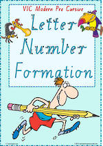 Year 1 Handwriting | Formation | Letter – Number | Charts | VIC PreCursive