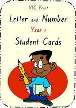 Year 1 Handwriting | Letter Formation | Table  Cards | VIC Print