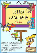 Year 1 Handwriting | Terminology | Uppercase Letter | Charts | SA Print