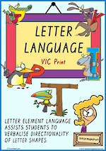 Year 1 Handwriting | Terminology | Uppercase Letter | Charts | VIC Print