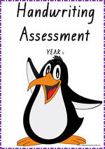 Year 1 Handwriting |  Visible Learning | Assessment | VIC  Print