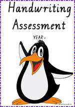 Year 1 Handwriting |  Visible Learning | Assessment | VIC PreCursive