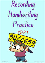 Year 1 Handwriting | Visible Learning | Recording | Colour Sheets | NSW-NZ Print