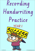 Year 1 Handwriting | Visible Learning | Recording | Colour Sheets | VIC PreCursive