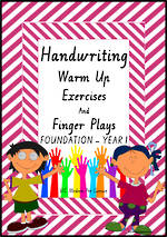 Year 1 Handwriting | Management | Rhymes | Charts | VIC PreCursive