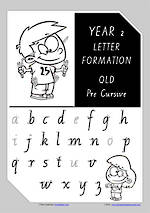 Year 2 Handwriting | Letter Formation | Uppercase | Lowercase | QLD PreCursive